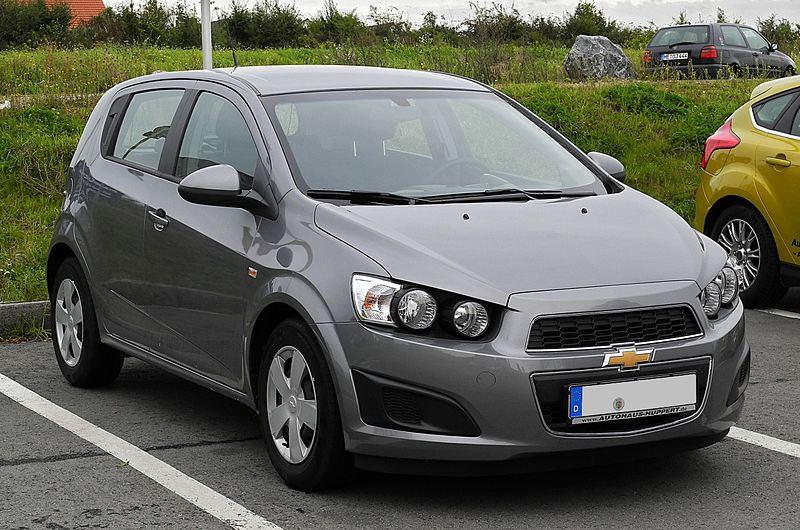 Wypożyczalnia samochodów Katowice - Chevrolet Aveo hatchback 5 drzwi