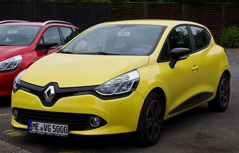 Wypożyczalnia samochodów Katowice - Renault Clio hatchbach 5 drzwi
